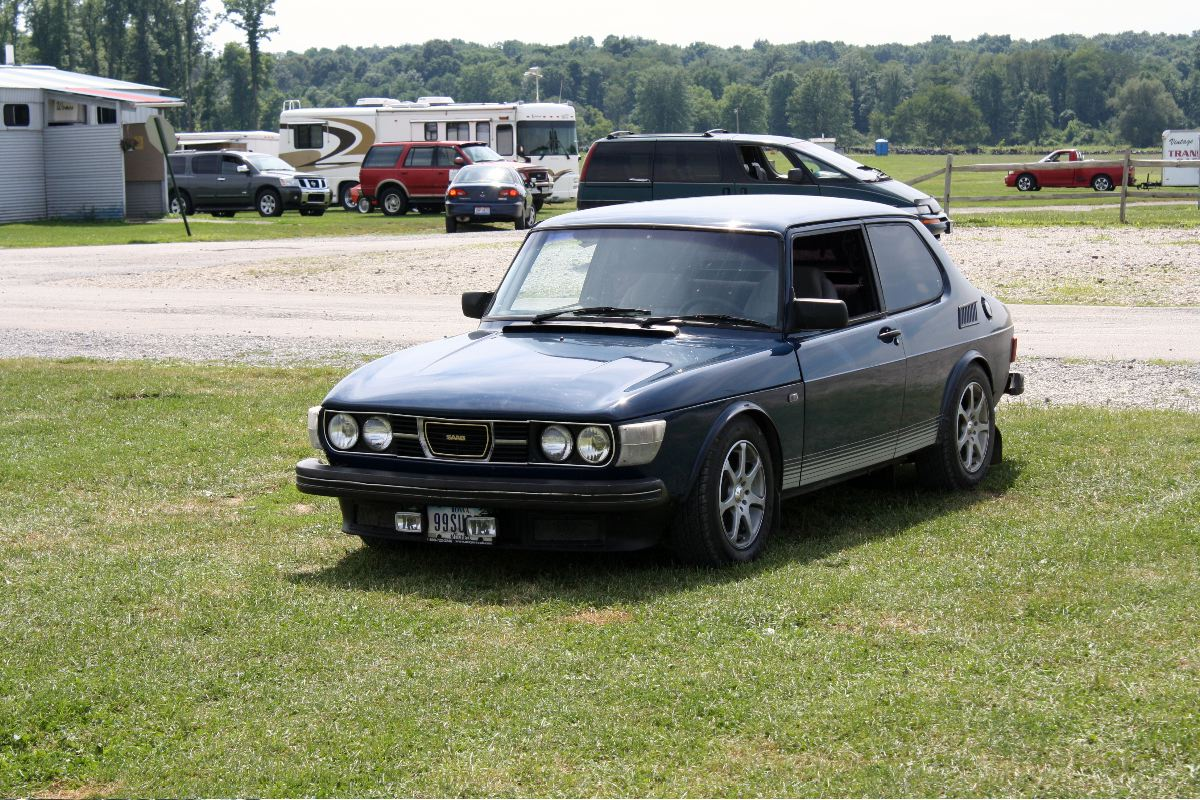 NA National Saab Track Day 007