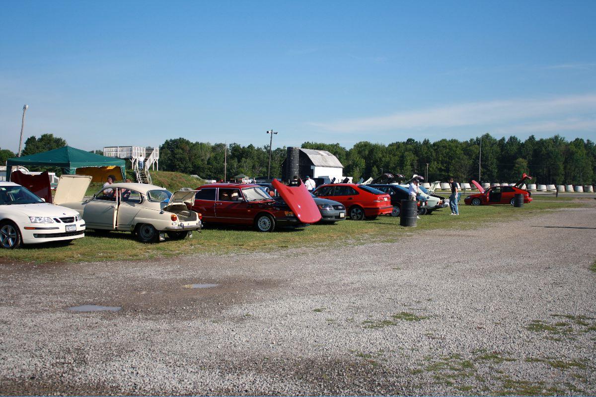 NA National Saab Track Day 010