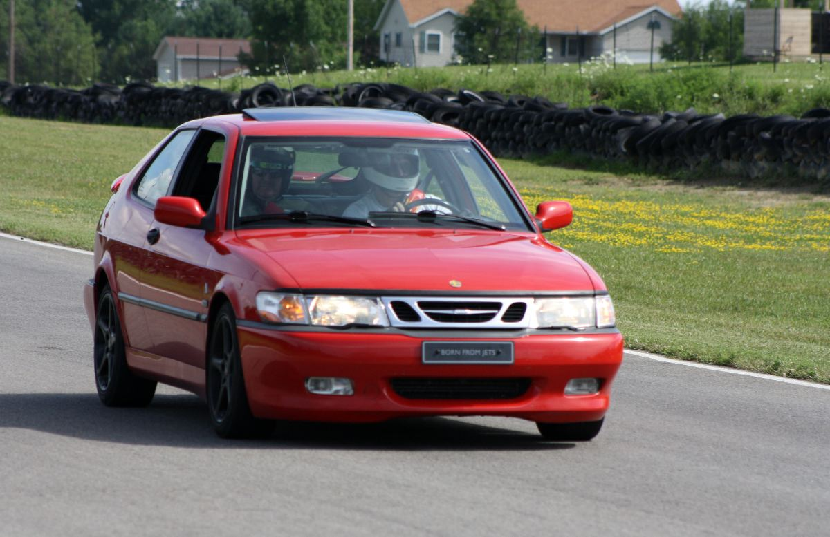 NA National Saab Track Day 014