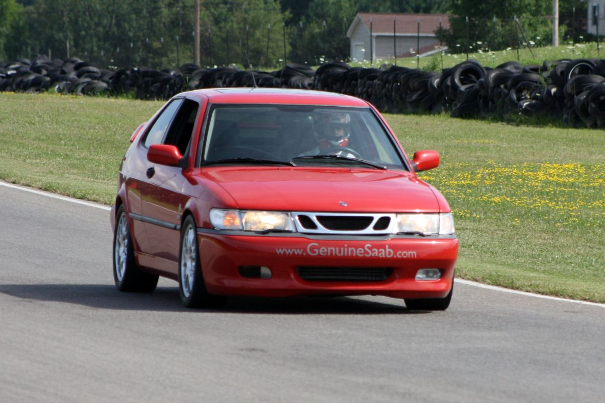NA National Saab Track Day 016