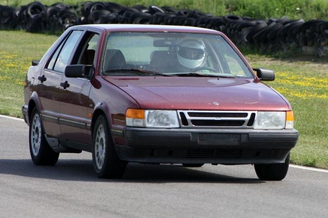 NA National Saab Track Day 020