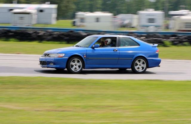 NA National Saab Track Day 087