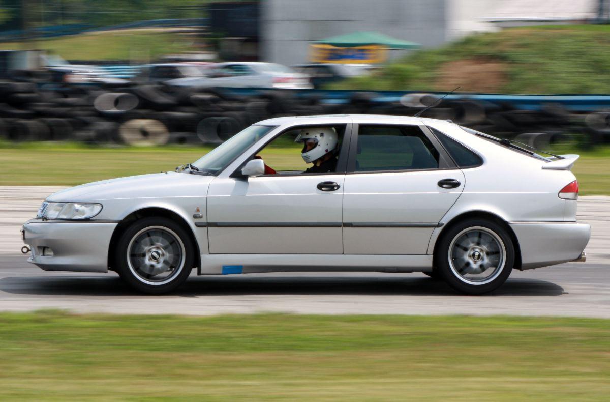 NA National Saab Track Day 088