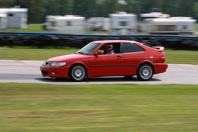 NA National Saab Track Day 098
