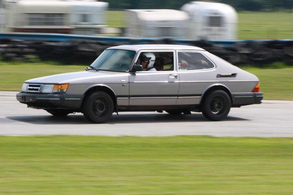 NA National Saab Track Day 108