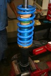 Coilover Kit development.