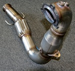 Highlight for Album: Taliaferro downpipe testing for the SS
