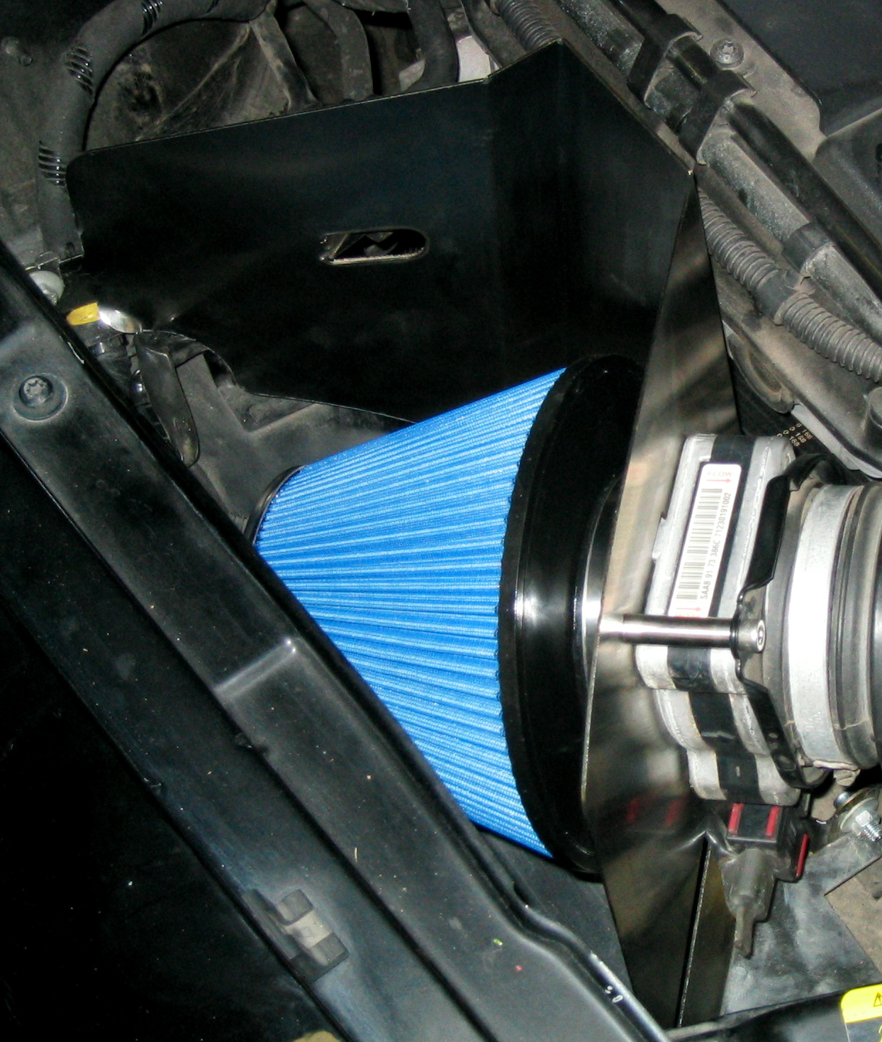 9-3 T7 Open Air intake
