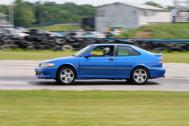 NA National Saab Track Day 091