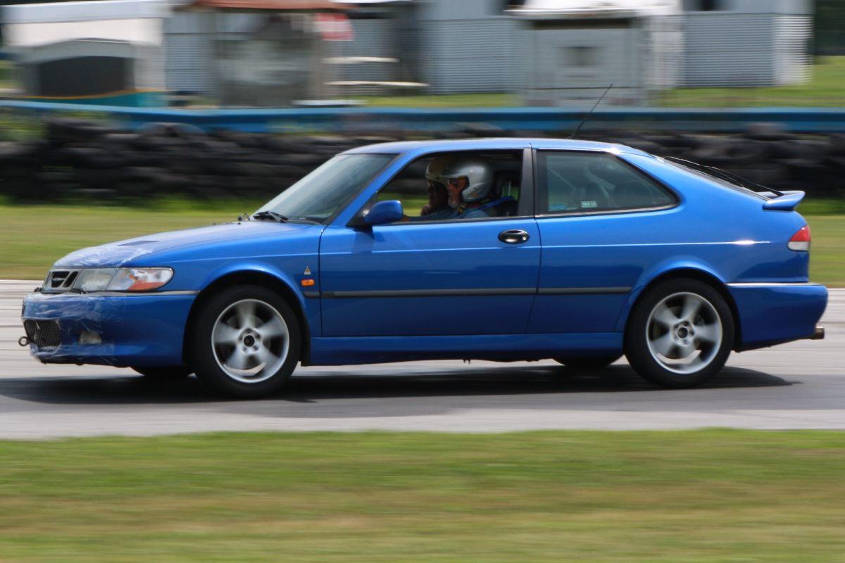 NA National Saab Track Day 096