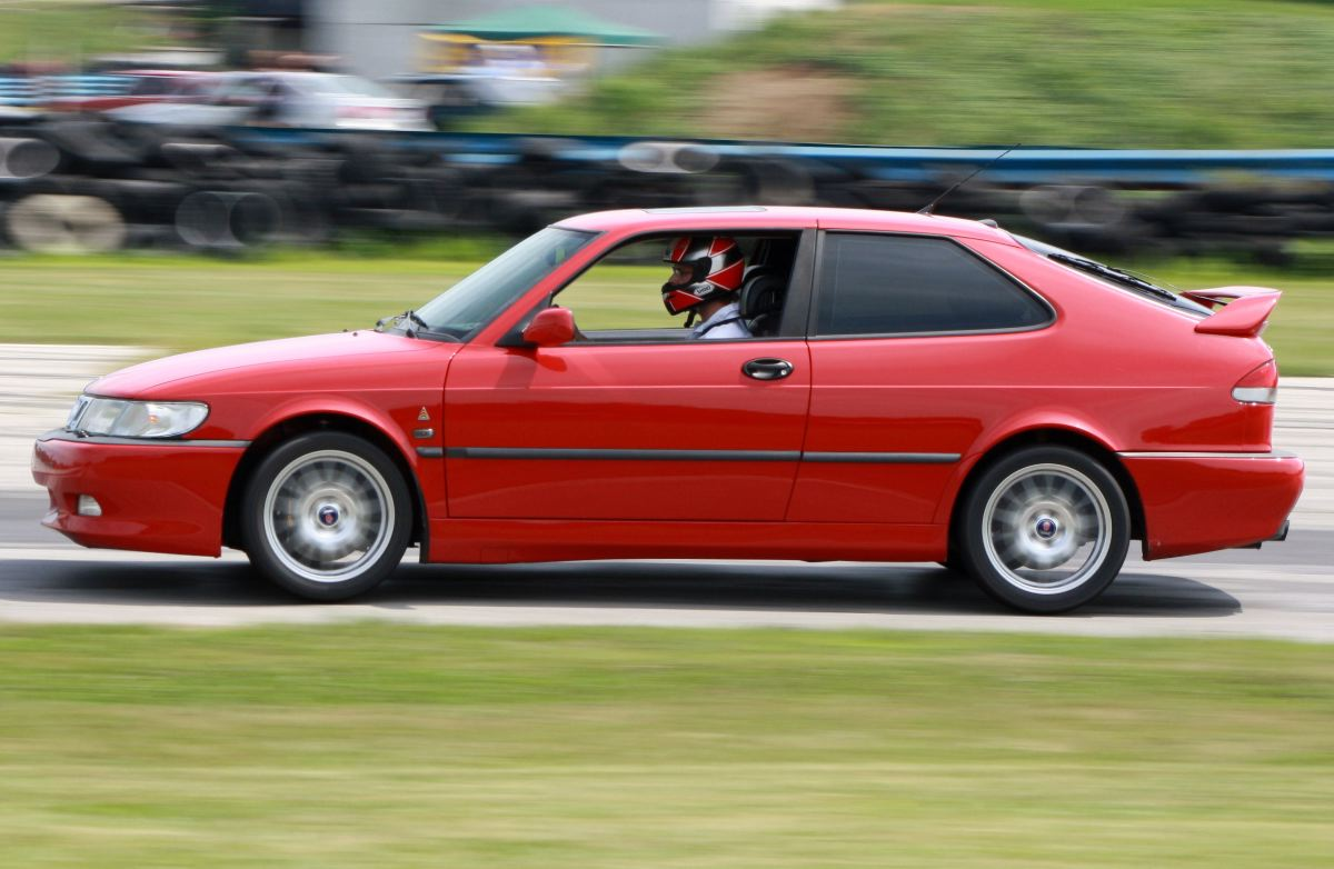 NA National Saab Track Day 100